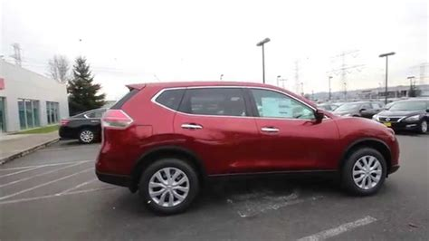 red nissan rogue 2015 nissan rogue s cayenne red fc803840 kent