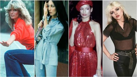 1970s female celebrities 70 s fashion the best looks from the 1970 s the trend