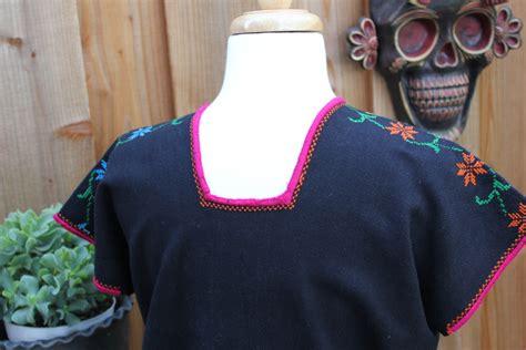 Handmade Blouse - handmade huanengo huipil blouse