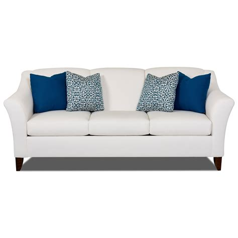 Klaussner Sofa Uk by Klaussner Valhalla Sofa With Flared Arms