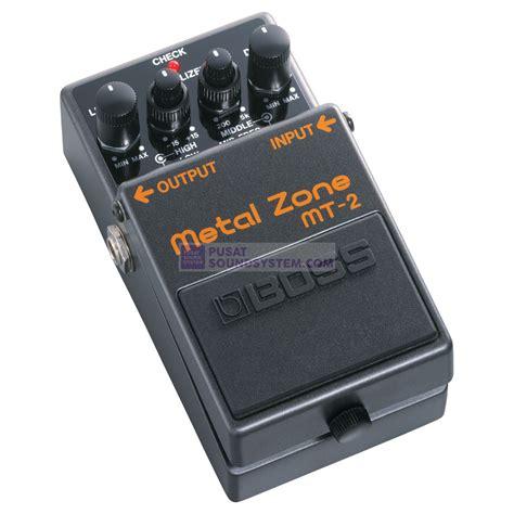 Harga Efek Metal Zone jual mt 2w metal zone guitar pedal effect