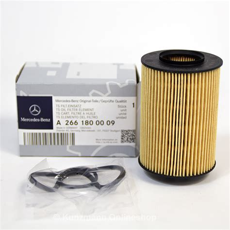 Fuel Filter Merchedes E5kp genuine mercedes filter filter inset a2661800009
