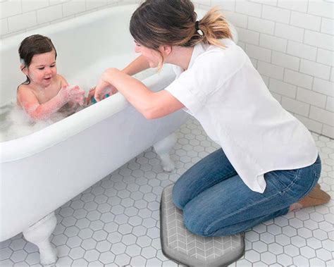 bathtub kneeler bath kneelers no more sore knees while bathing your baby