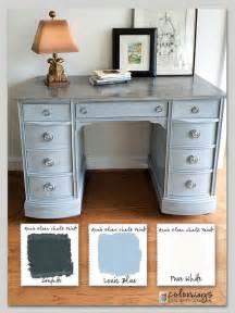 color desk 25 best ideas about chalk paint desk on chalk
