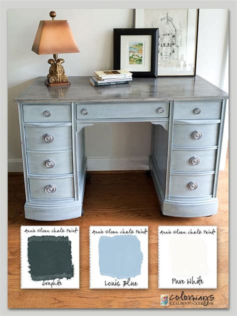 color desk 25 best ideas about chalk paint desk on chalk