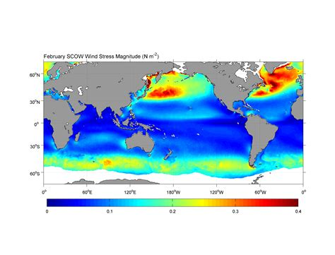 scow climatology scatterometer climatology of ocean winds scow