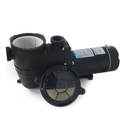 pool motor 2 hp 2hp in ground swimming spa pool motor strainer above