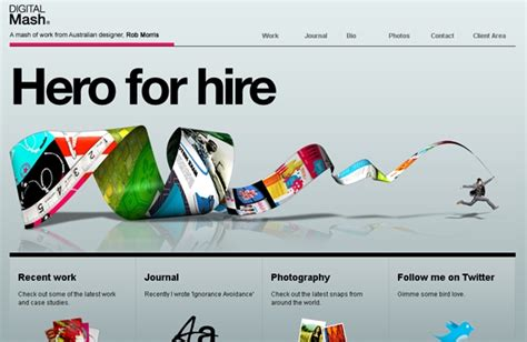 web layout trends web design trends for 2010 web design ledger