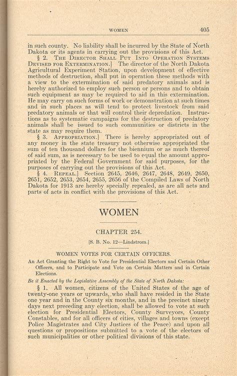 Womens Suffrage Essay by Section 3 Suffrage 1912 To 1920 Dakota Studies