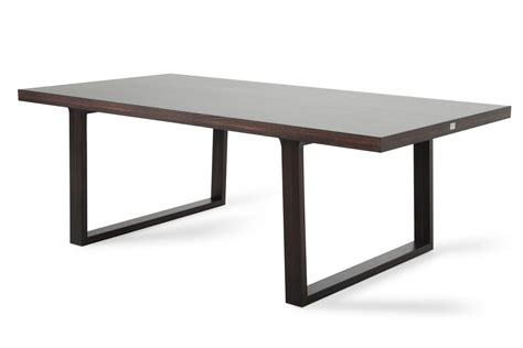 a x caligari modern oak dining table by vig l angolo