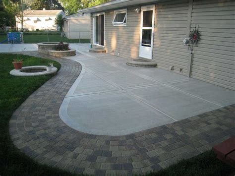 how to build a backyard patio how to build diy concrete patio in 8 easy steps