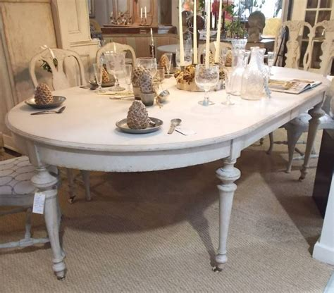 large 19c swedish painted dining table stock blanchard