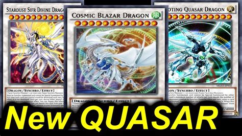 yugioh neue decks cosmic blazar new omega on steriods blackwing