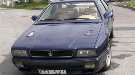Maserati Ghibli Ii by 1994 Maserati Ghibli Ii Pictures Information And Specs