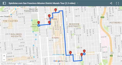 san francisco map embarcadero san francisco bike map spinlister s top 10 bike routes in sf