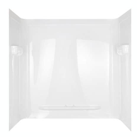 shop aqua glass seamless 60 in w x 32 in d x 60 in h high