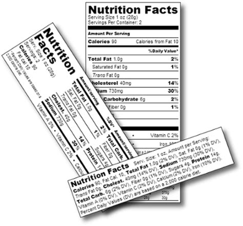 printable nutrition label maker create generate nutrition labels nutritional label