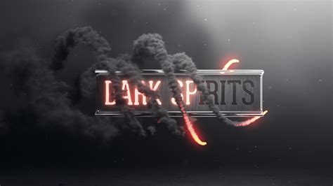 Dark Spirits By Divided We Fall Videohive After Effects Logo Templates