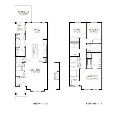 Linden Floor Plan by Linden Morrison Homes