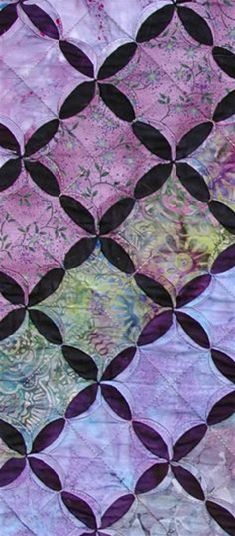 Mock Cathedral Window Quilt Pattern by 1000 Images About Mock Cathedral Window Quilt How To On