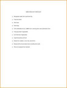 Exit Cover Letter by 11 Exit Letter For Employee Financial Statement Form