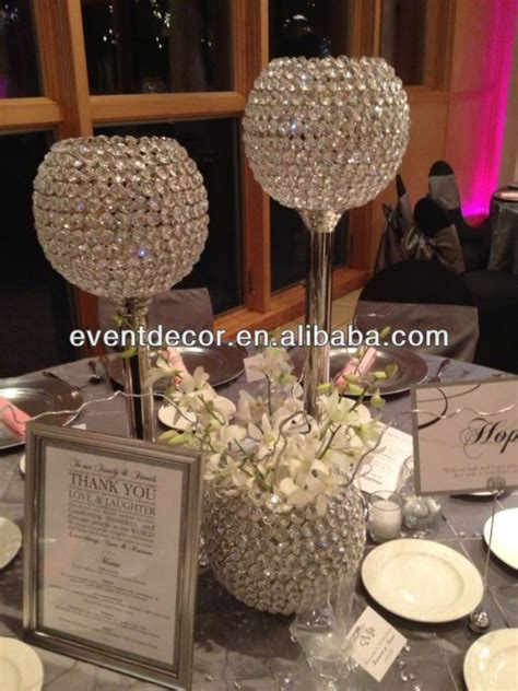 crystal globes centerpieces   Google Search   Crystal