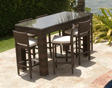 Bar Height Bistro Table Outdoor Outdoor Bar Height Bistro Table Sets Chairs Seating