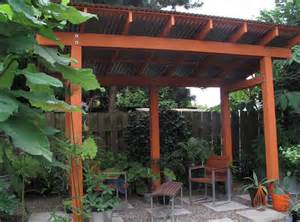 Tin Roof Pergola by Idyll Haven July 2012
