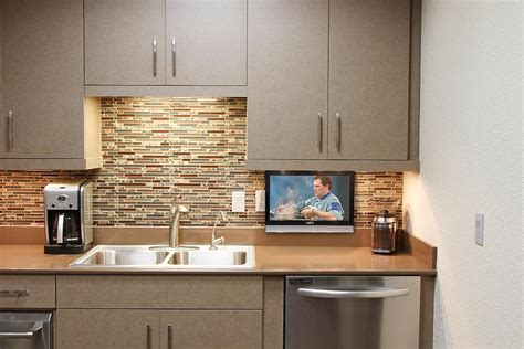 small kitchen tv drop down tv in kitchen nexus 21 subcompact drop down tv lift nexus 21 tv lifts