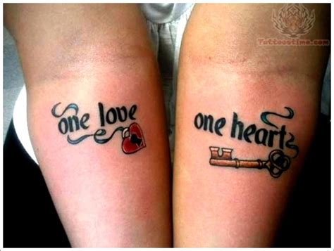 tattoos for lovers 101 complimentary designs for couples