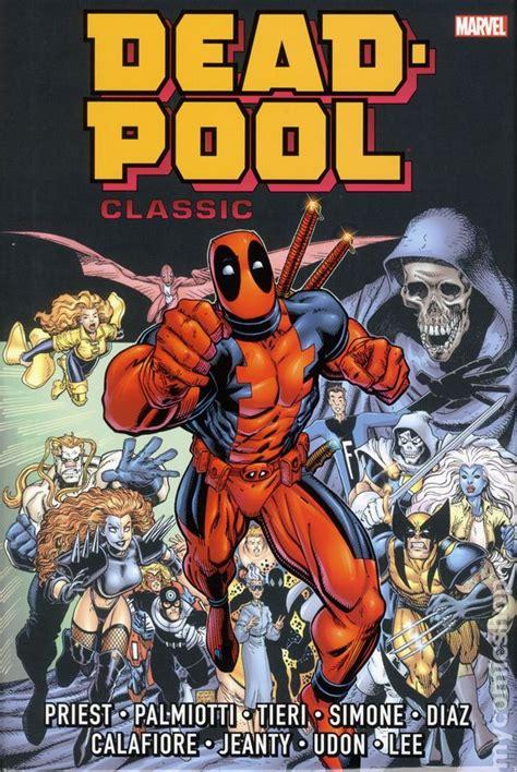 x classic omnibus books deadpool classic omnibus hc 2015 marvel comic books
