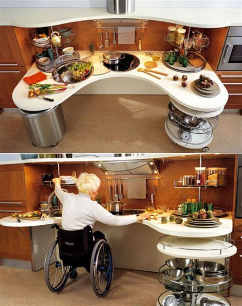 wheelchair accessible kitchen design skyline lab wheelchair friendly kitchen design core77