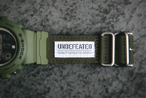 Dw Bwr Canvas Limited Edition g shock x undefeated dw 6901ud 3
