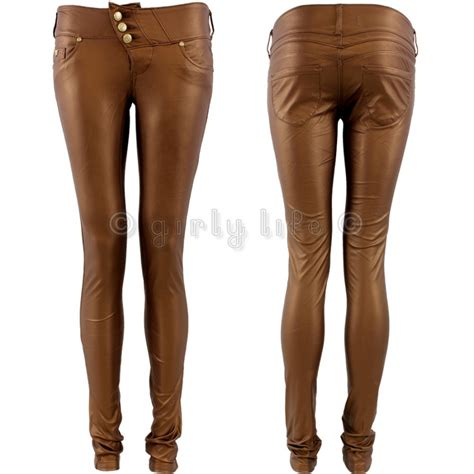 Jegging Polos Uk 34 Th Legging Polos Anak Cowok Sp bronze matt leather look pvc top quality fit