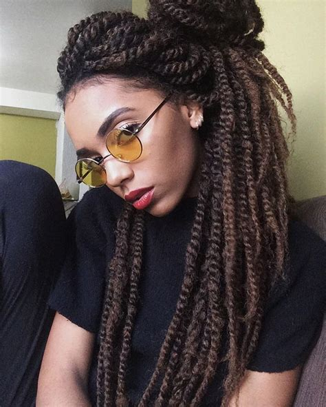 Hairstyles With Marley Hair by 25 Best Ideas About Marley Twists On