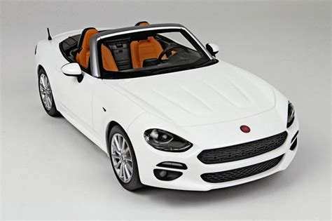 Look Bbr Fiat 124 Spider White Diecastsociety Com