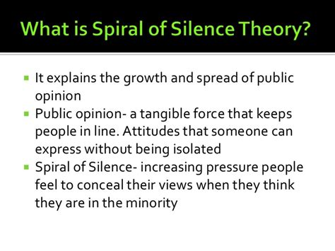 a sound in the silence an eco critical anthology books spiral of silence