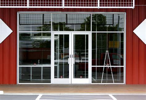 used shop front doors store front door tech of nashville commercial doors