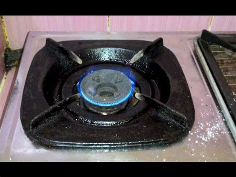 Oven Gas Yang Kecil cara memperbaiki kompor gas yang nyalanya kecil