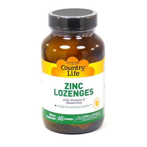 Vitamin Zinc Zinc Lozenges With Vitamin C By Country 60 Lozenges