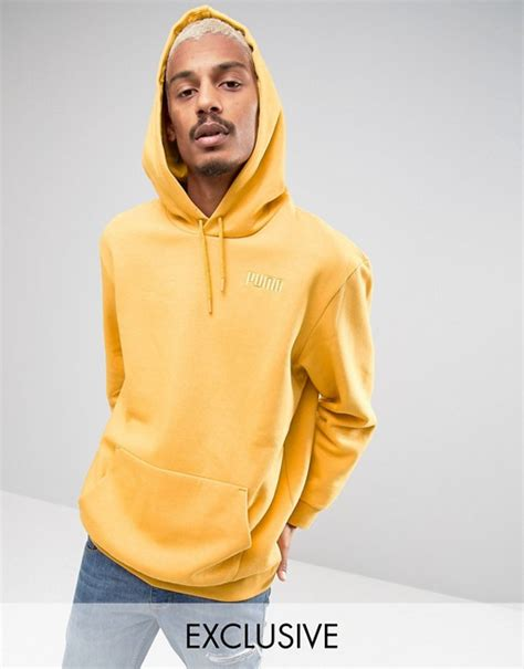 asos hoodie in yellow oversized hoodie in yellow exclusive to asos