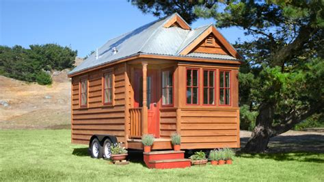the 130 square foot quot fencl quot tiny house being pulled by a small tiny houses texas tiny house cottages tiny small