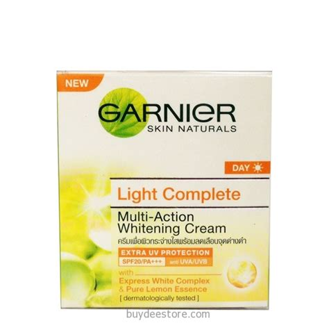 Garnier Multi Whitening garnier skin naturals day light complete multi spf20 pa whitening 50ml buydee