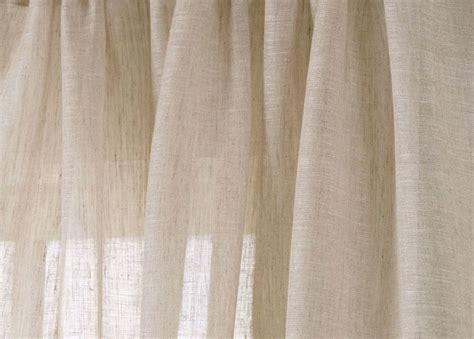 sheer linen curtain fabric natural linen sheer fabric drapery fabric