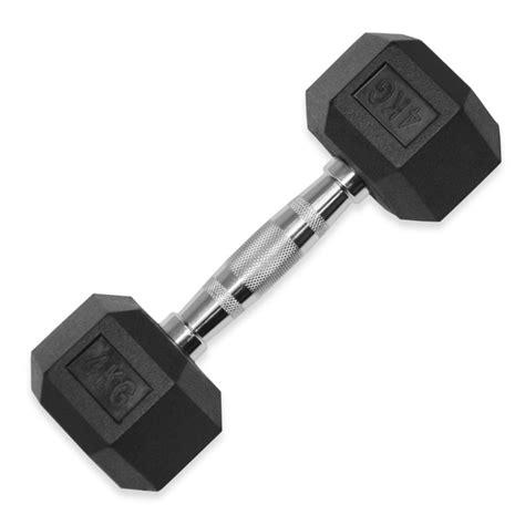 Dumbell 4kg jll rubber hex dumbbells 4kg 32kg jll fitness