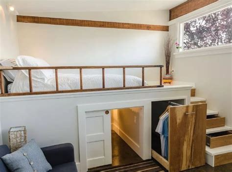 Small Houses For Sale Vancouver Garage Converted Into 250 Sq Ft Tiny House Now For Sale