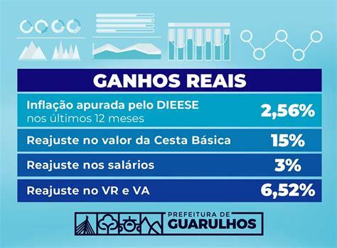 Qual Reajuste Dos Servidores Publicos De Guarulhos Para 2016 | prefeitura anuncia reajuste salarial acima da infla 231 227 o
