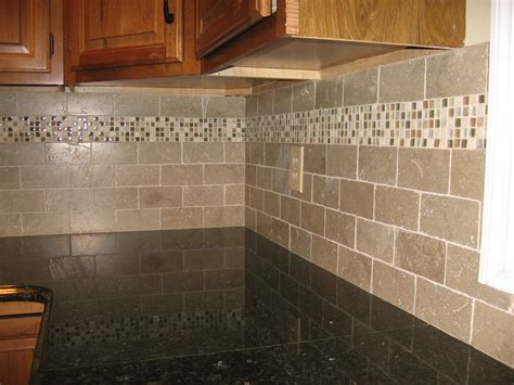 Tile Accents For Kitchen Backsplash Kitchens Jeremykassel