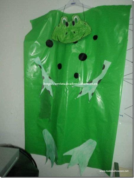 pasos para hacer un disfras de rana en papel crepe como hacer un disfraz de rana paso a paso imagui
