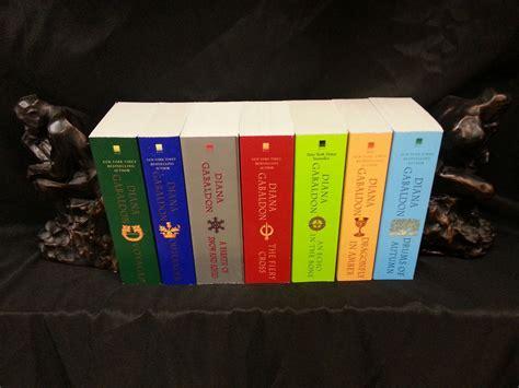diana gabaldon outlander series 8 book set 1 8 diana gabaldon outlander complete paperback set collection